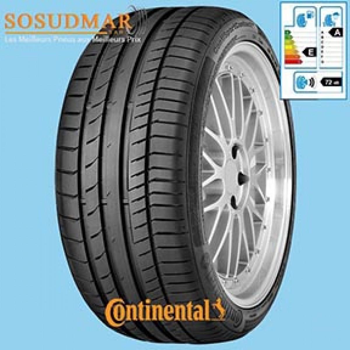 pneu continental 225 50r17 98y