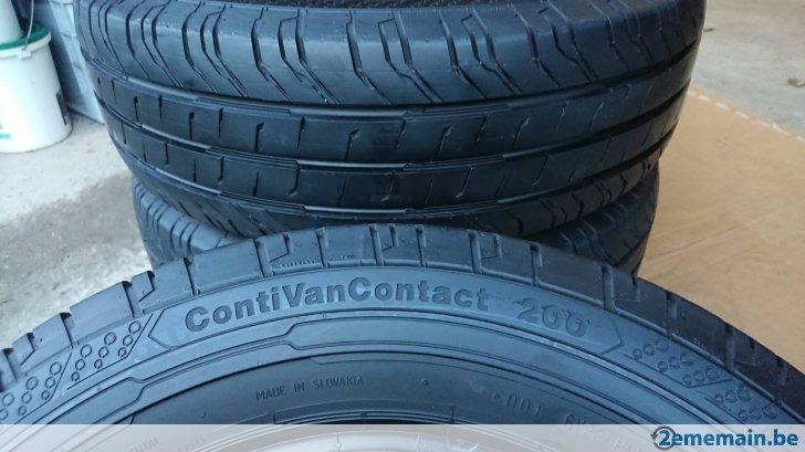 pneu continental conti van contact 200