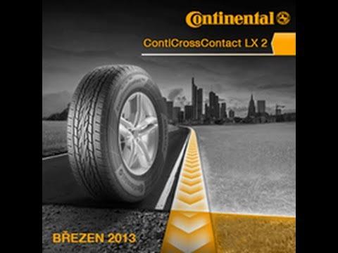 pneu continental crosscontact lx2