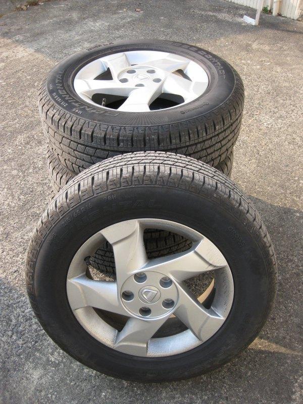 pneu continental dacia duster