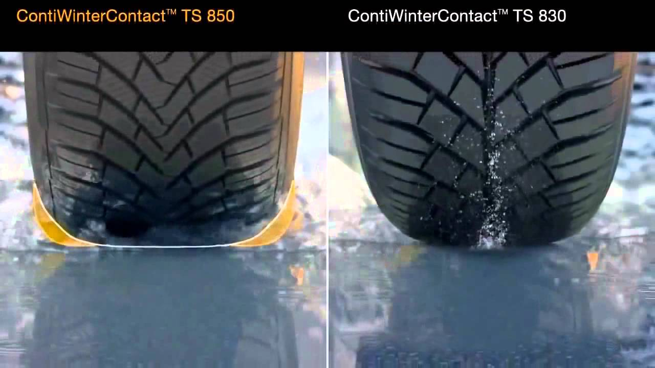 pneu continental hiver ts 850