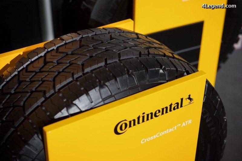 pneu continental orange