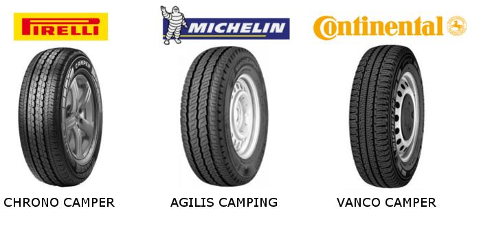 pneu continental pour camping car