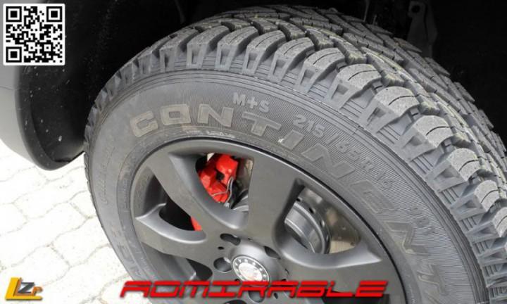 pneu continental pour duster