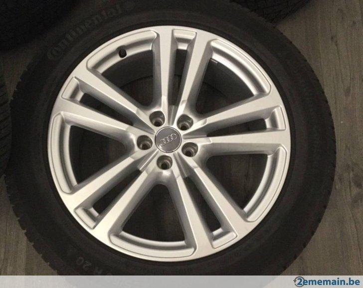 pneu continental pour q7