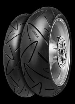 pneu continental road attack 2