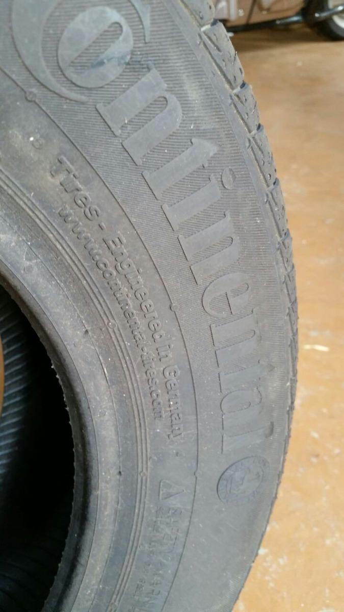 pneu continental roda quantos km