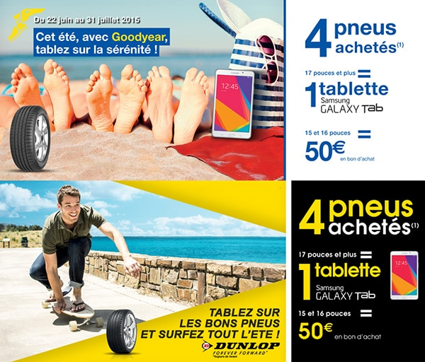 pneu goodyear tablette