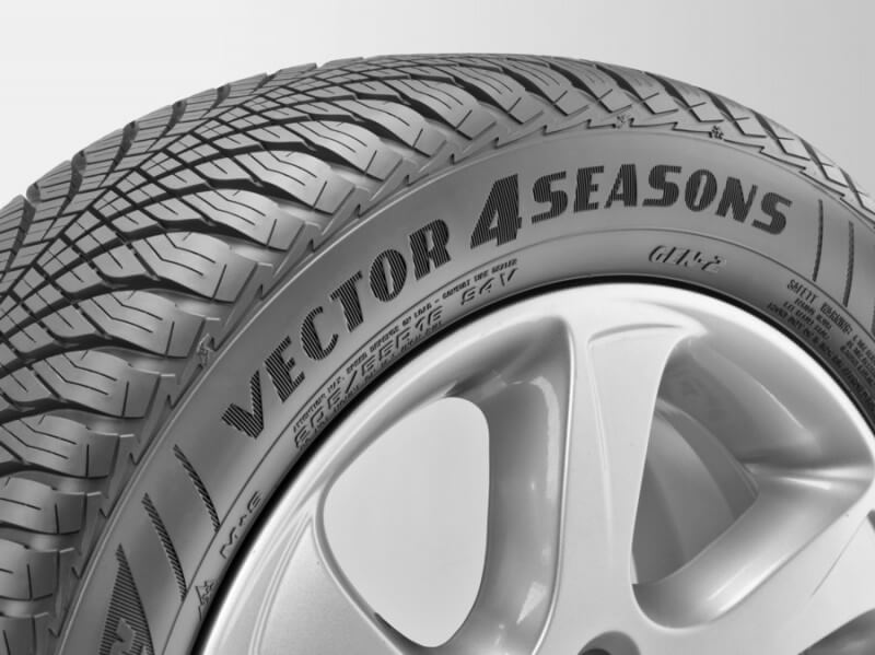 pneu goodyear vector 4 seasons avis