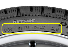 pneu michelin date de fabrication