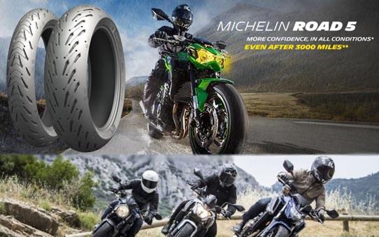 pneu michelin moto road 5