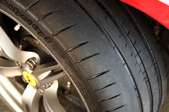 pneu michelin semi slick