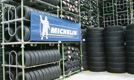 pneu michelin usine