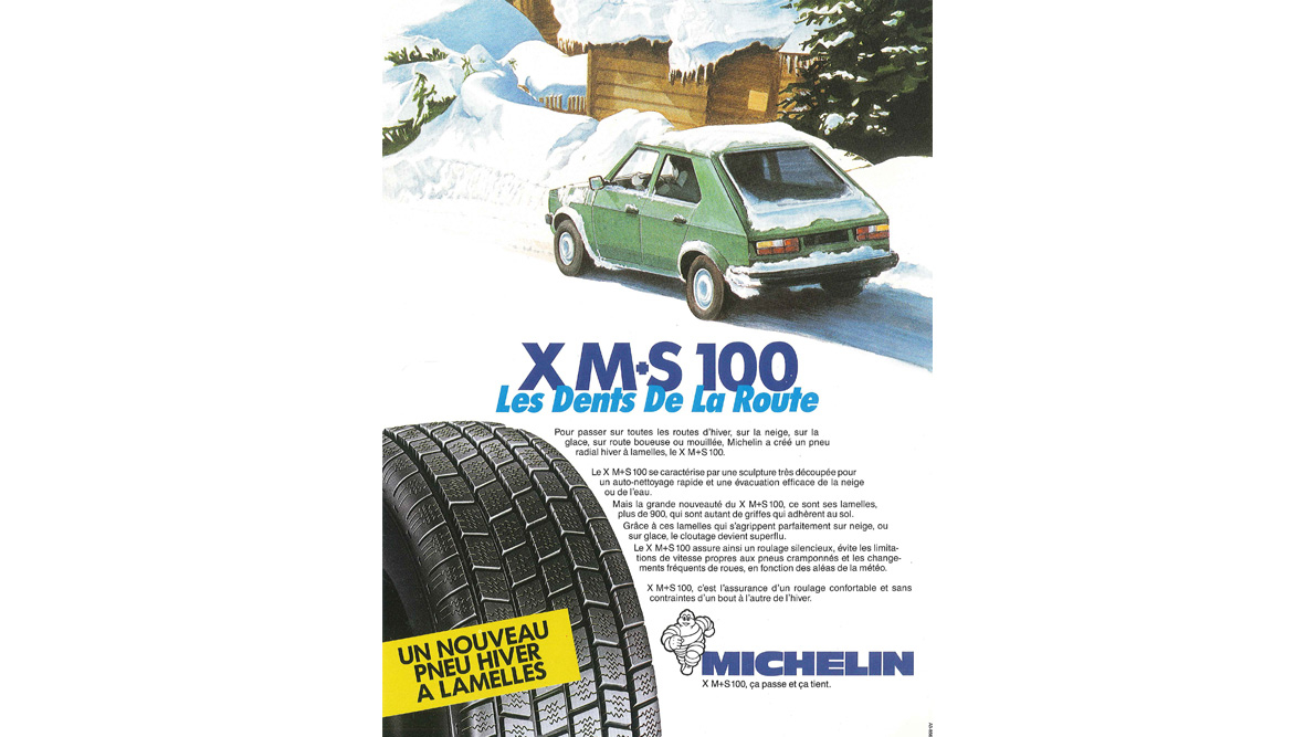pneu michelin xm+s100