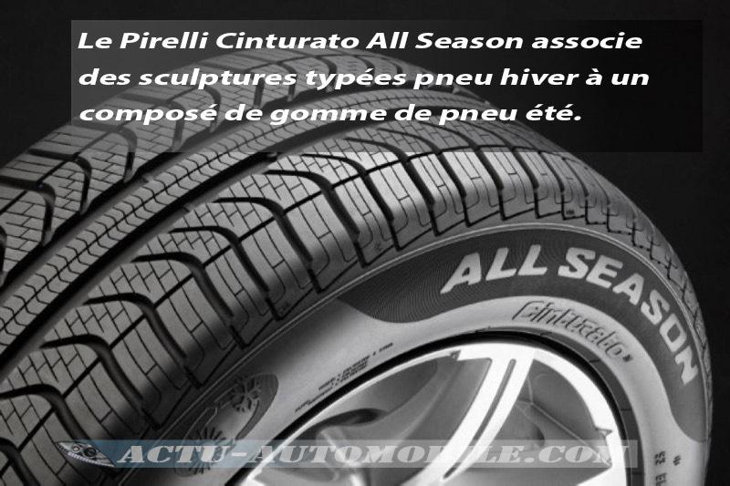 pneu pirelli cinturato all season avis