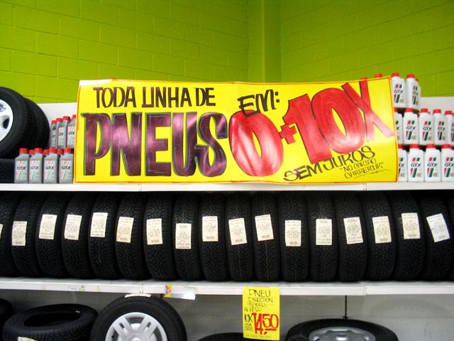 pneu pirelli no supermercado extra