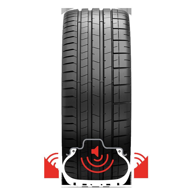 pneu pirelli noise cancelling system